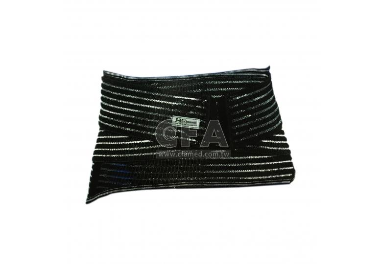 竹炭全扣式六條鐵腰帶