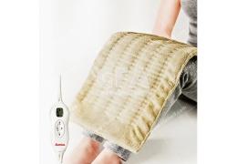 保暖抗寒 冷颼颼必備 三樂事LCD熱敷柔毛墊(大) 插電式自動電熱毯 取暖保溫 輕便耐用 冬天必備