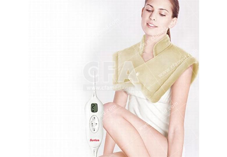 保暖抗寒 冷颼颼必備 三樂事LCD頸肩雙用熱敷柔毛墊 插電式自動電熱毯 取暖保溫 輕便耐用 冬天必備