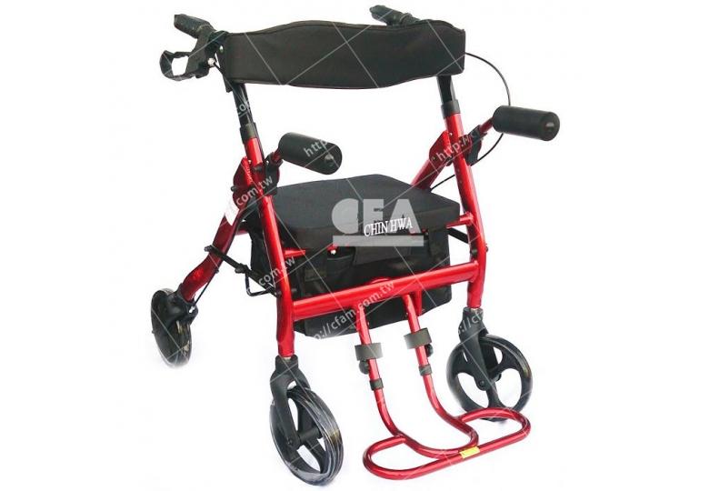 免運【好鄰居】AL220X 無機械動力四輪車-T踏款-紅、黑
