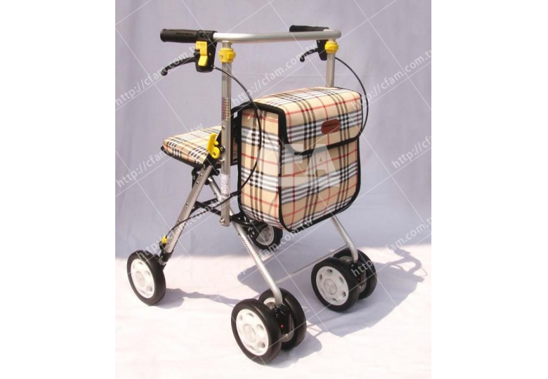 免運【好鄰居】ALF707 銀髮健步車-附置物籃