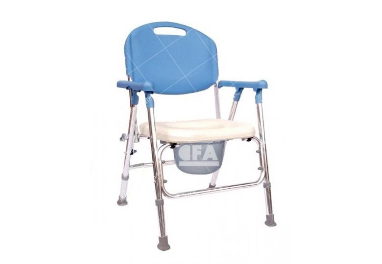 限宅配/郵寄均120【好鄰居】AL105B 鋁製收合便器椅