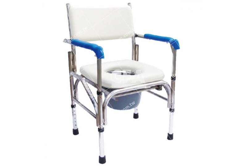 免運【好鄰居】AL211B 不鏽鋼固定便盆椅