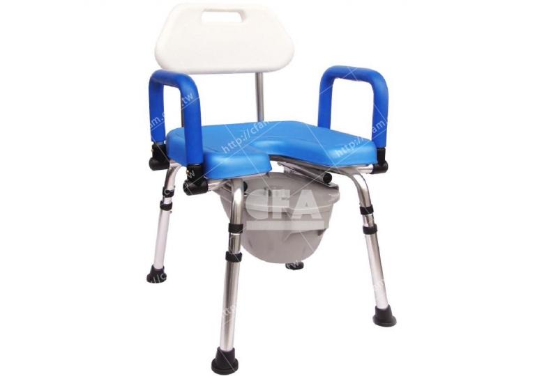 免運【好鄰居】AL5880 鋁製洗澡便椅