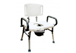 免運【好鄰居】AL9G15 鋁製加大洗澡便椅-20吋、22吋