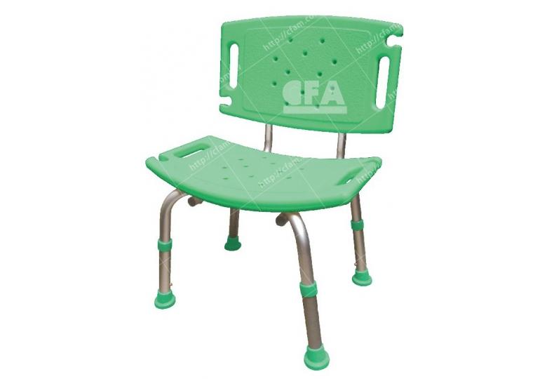 限宅配/郵寄均120【好鄰居】AL7006 鋁製有背洗澡椅
