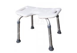 限宅配/郵寄均120【好鄰居】AL9050 鋁製洗澡椅-白