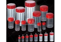 【好鄰居】中藥罐 #1-8號/個 量大有優惠 中藥/藥粉罐/瓶罐/紅藥矸/塑膠罐/塑膠容器/捕蟲罐/化工醫藥收納