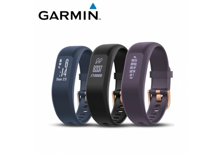 免運正貨【好鄰居】GARMIN vivosmart 3 贈優質護具好禮五選一 智慧健身心率手環智能運動手環智能健身監測