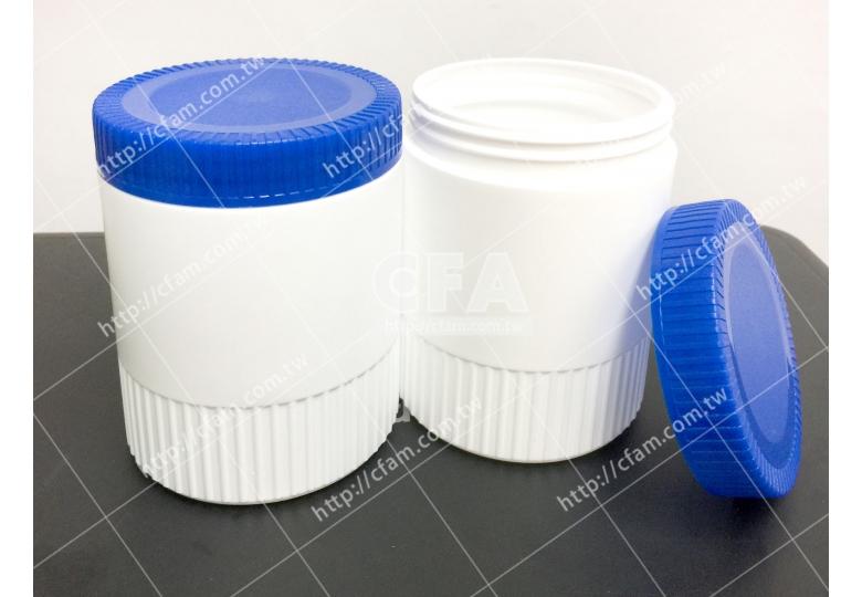 【好鄰居】塑膠罐 550g直徑x高/8 x11 cm/個 量大優惠 廣口瓶藥粉罐塑料罐罐子 藥品保健食品乾貨茶葉貯藏