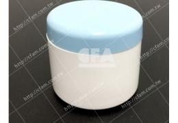 藥膏罐 30g 白身藍蓋 直徑x高/4 x4.4 cm/個 量大優惠 廣口罐塑膠罐髮膠罐 藥品保健食品乾貨茶葉凝膠膏狀物